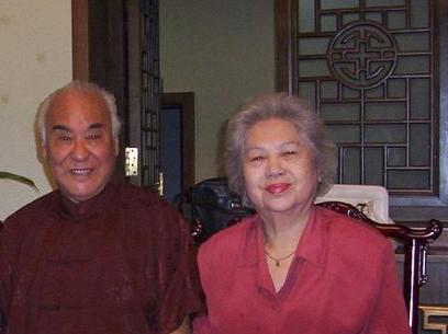 刘雪涛与夫人钱枫琪