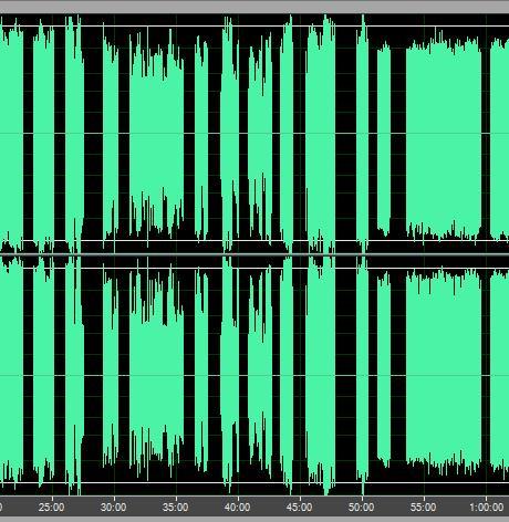 录音波形图
