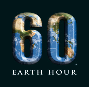Earth Hour 徽标