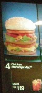 双层巨无霸式的鸡肉堡